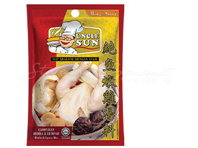 Uncle Sun Abalone  110g