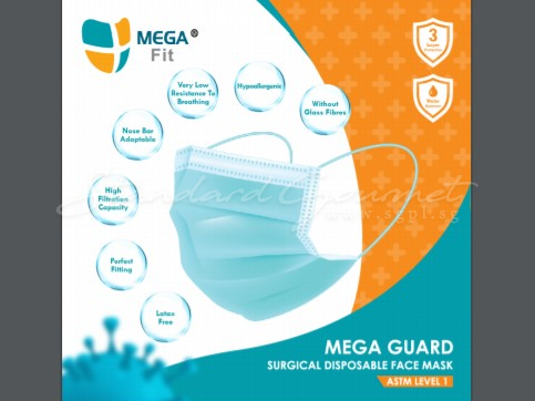 3 Layers Surgical Disposable Face Mask(50pcs/box)
